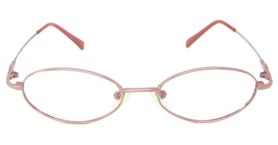 pink metal rectangular     JS-LJS9927-F