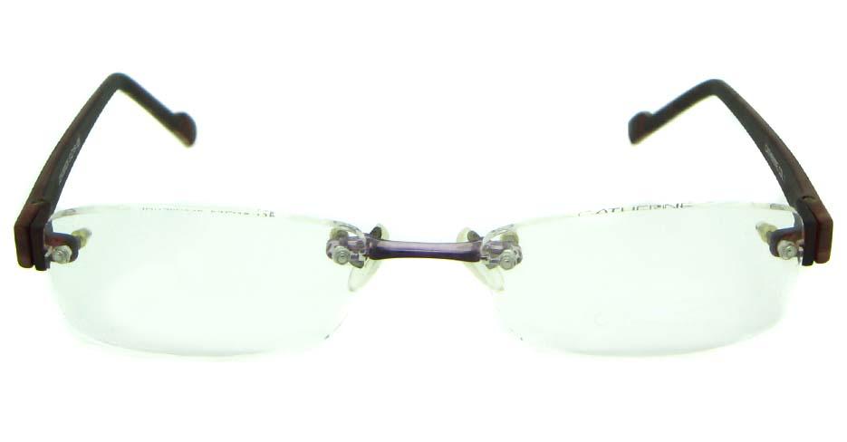 wine TR90 rectangular  glasses frame  JS-JDH200826-C1