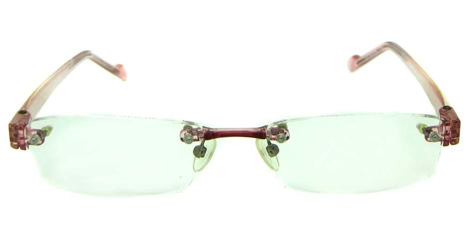 purple TR90 rectangular glasses frame   JS-JDH200818-147