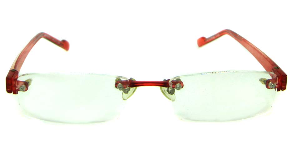 red TR90 rectangular glasses frame    JS-JDH200818-Y105