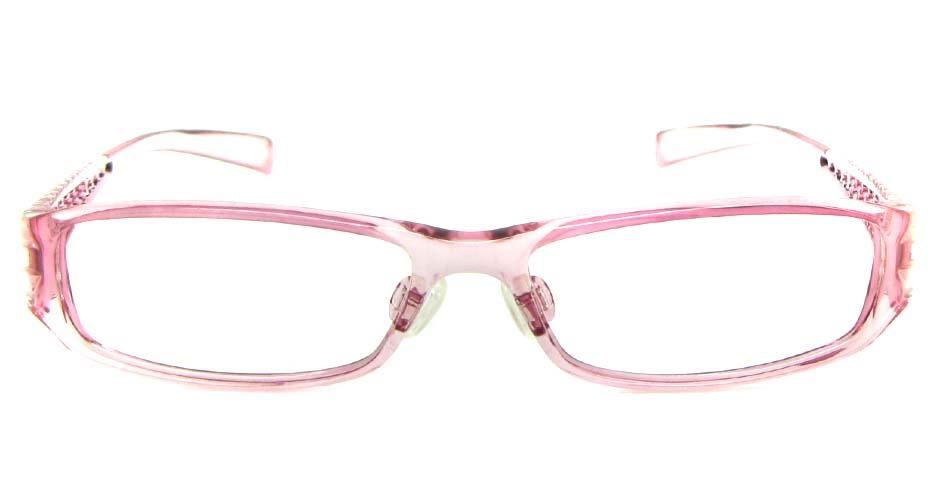 pink TR90 rectangular glasses frame   JS-JDH200815-Y147