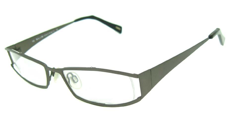 grey metal glasses frame   HL-156