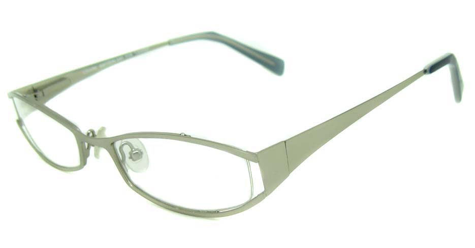 white metal glasses frame HL-LE313