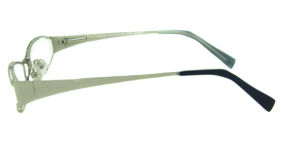 white metal glasses frame HL-LE313