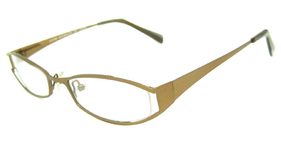 brown metal glasses frame HL-LE313-PR148
