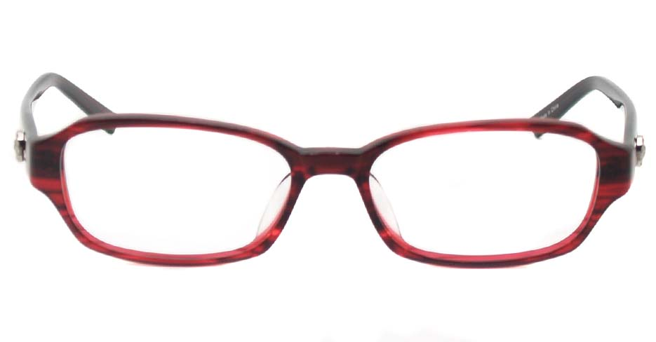 Wine acetate rectangular glasses frame HL-5536A
