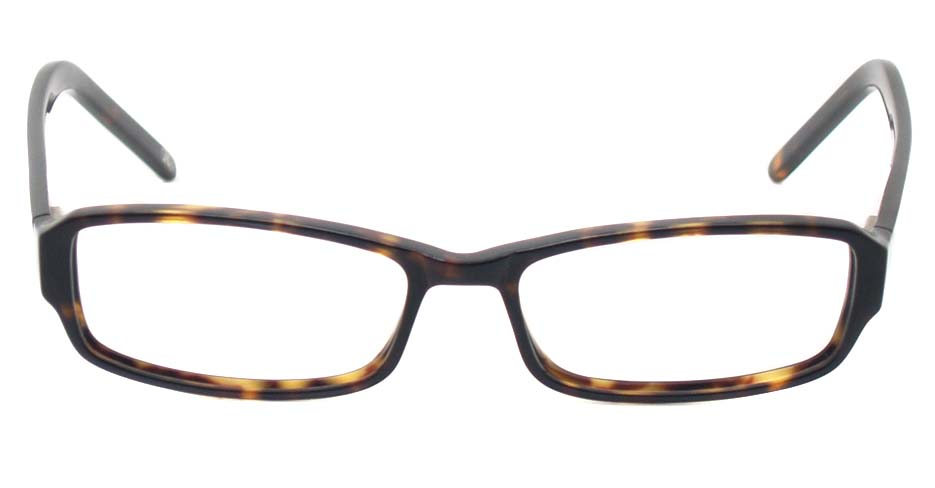 Tortoise acetate rectangular  glasses frame  HL-5465