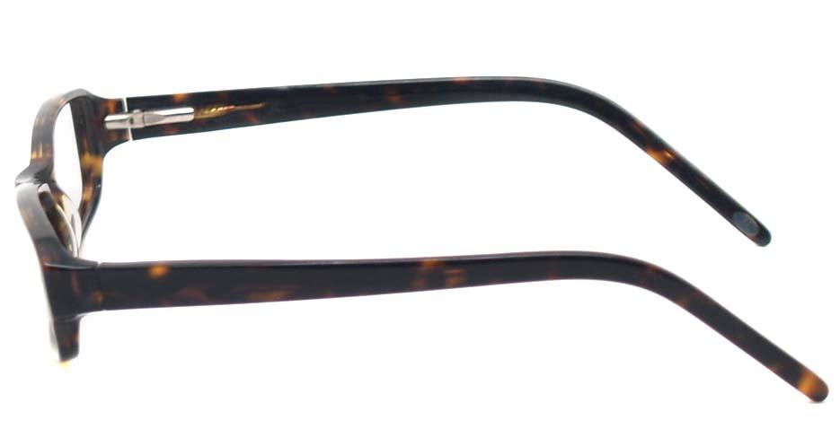 Tortoise acetate rectangular  glasses frame  HL-5465