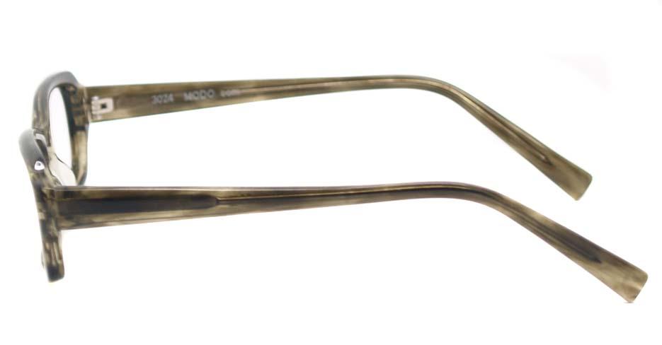 Tea acetate rectangular glasses frame HL-3024