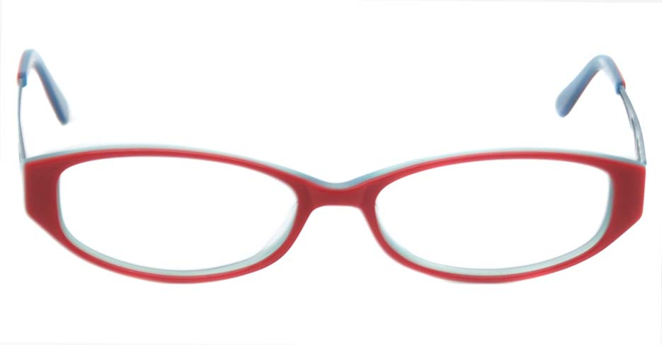 Blue  acetate rectangular glasses frame   HL-5566-PK
