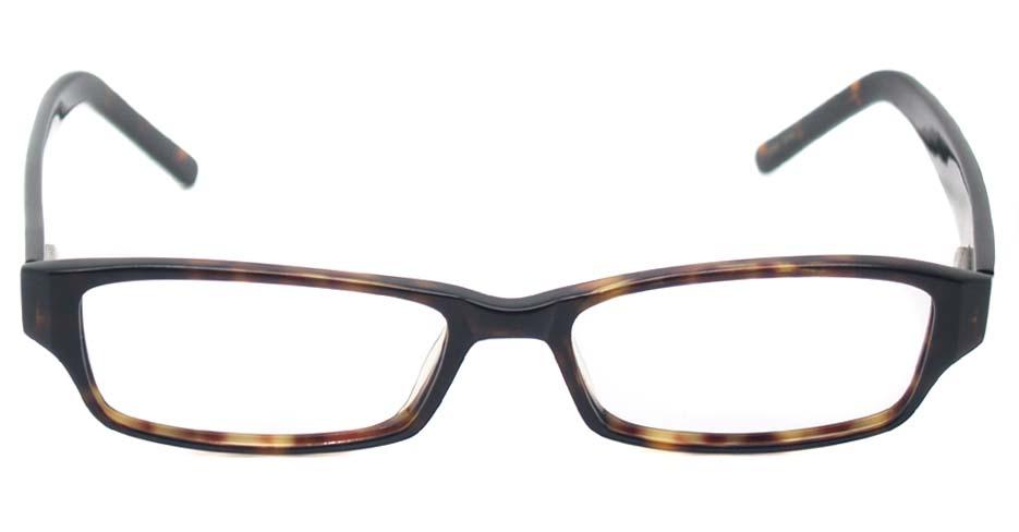 Tortoise acetate rectangular glasses frame  HL-Top