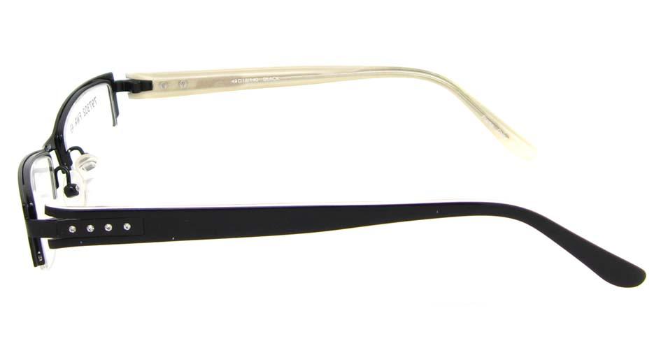 black  cat eye blend  glasses frame HL-797302