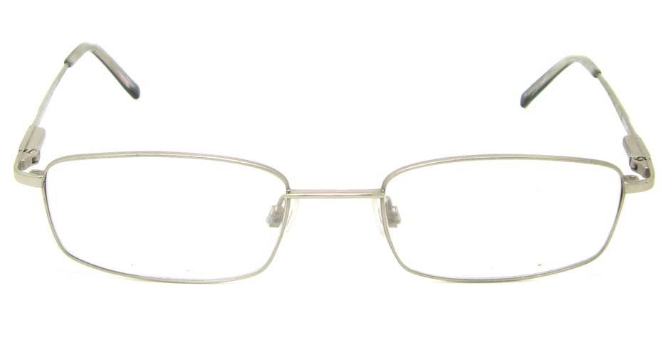 Silver rectangular metal   glasses frame HL-DOLA001-YBS