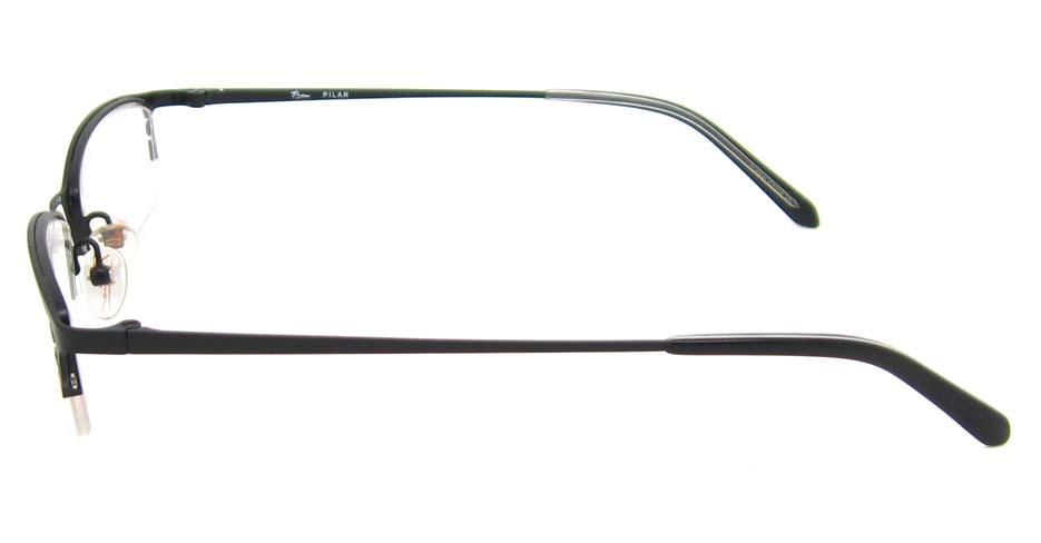 black cat eye metal glasses frame HL-PILAR