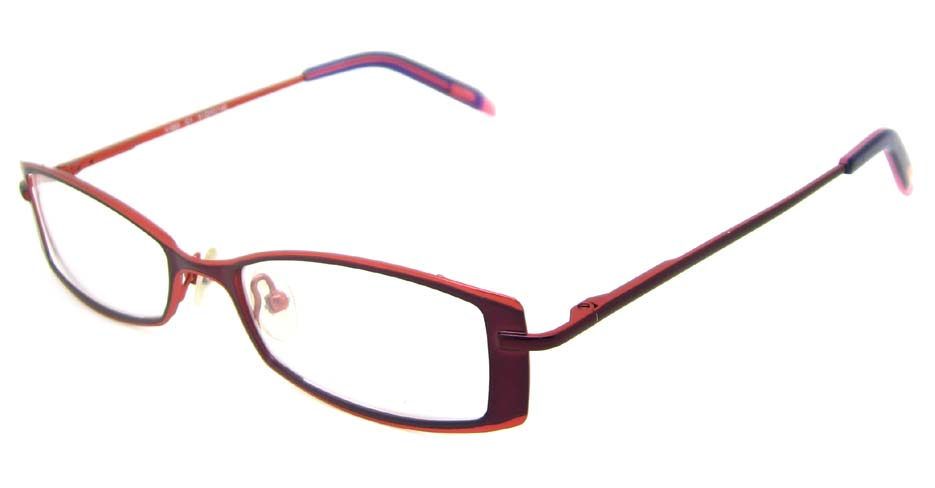 wine cat eye metal glasses frame   HL-V055-C1