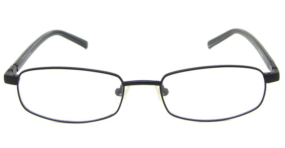 black blend rectangular glasses frame HL-AMA2946-002