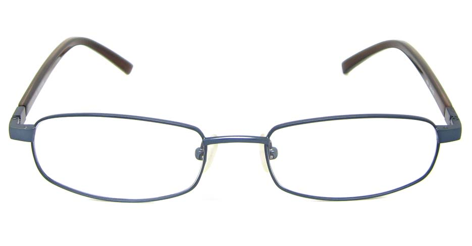 blue blend rectangular glasses frame HL-AMA2946-003