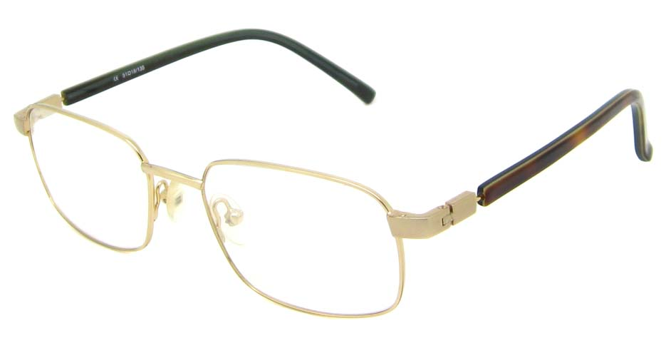 gold oval blend  glasses frame  HL-AMA2947-003