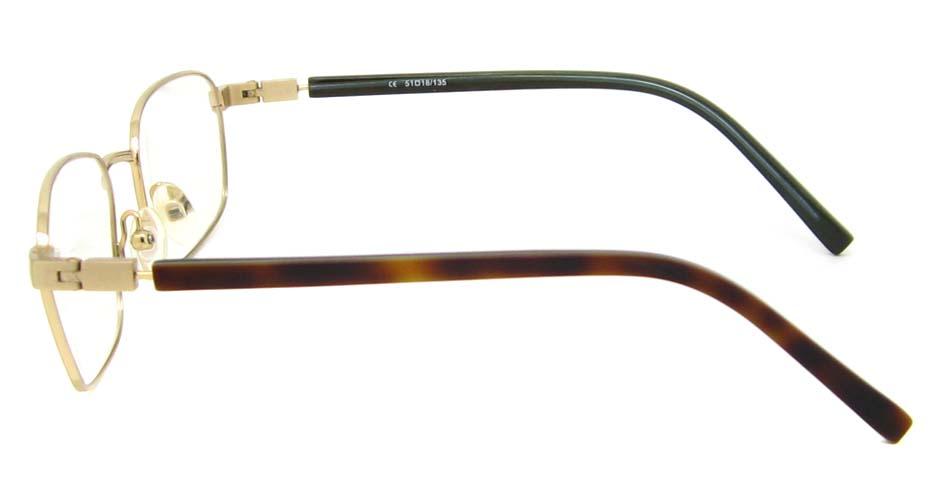 gold oval blend  glasses frame  HL-AMA2947-003