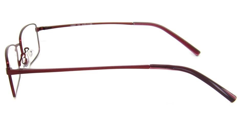 wine metal rectangular glasses frame HL-10337-C3