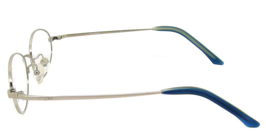 gold oval titanium glasses frame HL-B2017-E02