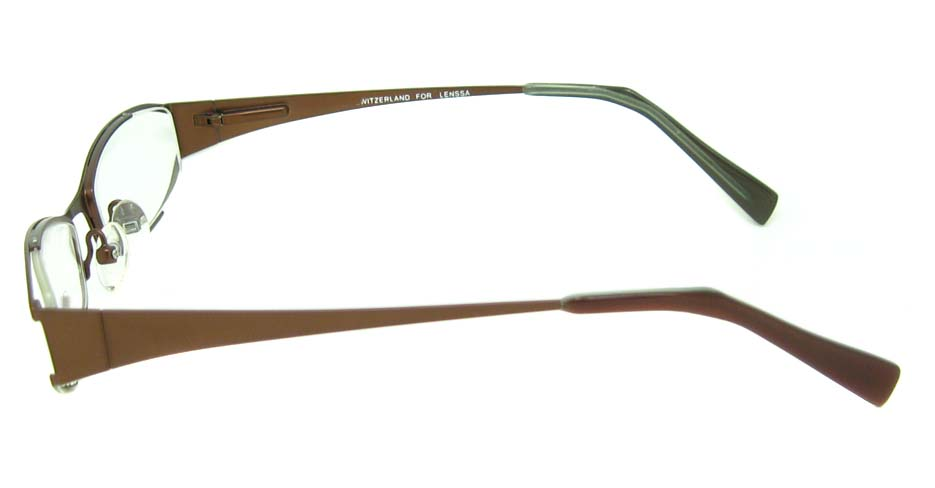 brown metal cat glasses frame HL-8580