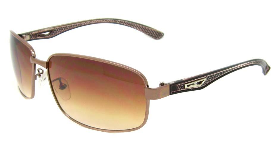 brown blend rectangular  glasses frame  YW-DH8814-ZS