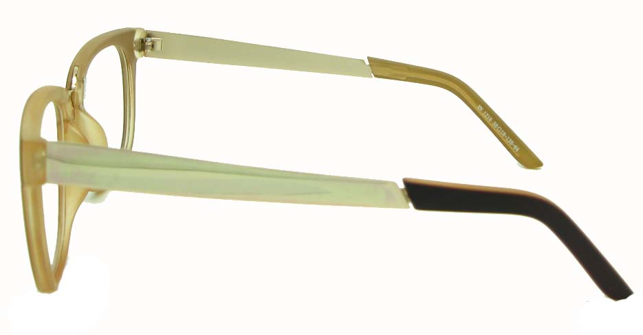 Brownblend oval glasses frame  WLH-XN1216-CZS