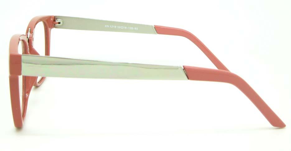 Pink blend oval glasses frame  WLH-XN1216-FHS