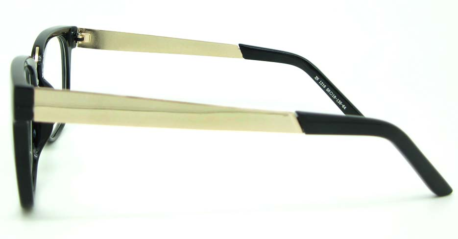 Black blend oval glasses frame  WLH-XN1216-HS