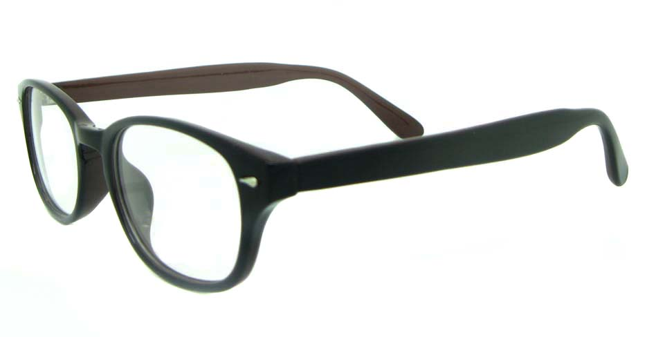 black TR  oval  glasses frame   YL-KLD-8066-C4