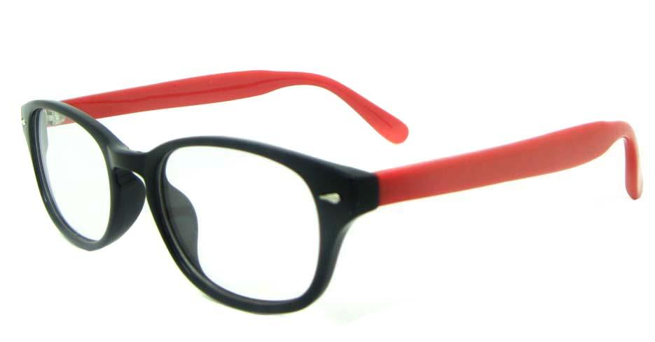 Black TR  round  glasses frame  YL-KLD-8067-C1