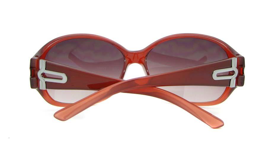 Wine Plastic Oval Leisure sunglasses   XL078