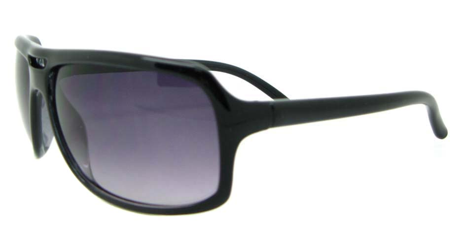 Black Plastic Oval Leisure sunglasses  XL070