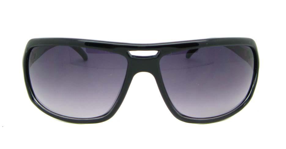 Black Plastic Oval Leisure sunglasses  XL070