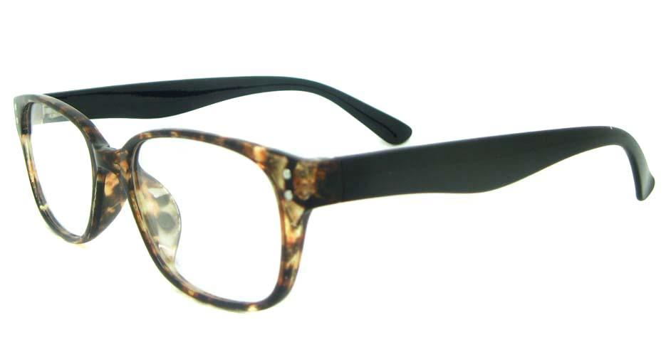 Tortoise  oval TR glasses frame YL-KLD8072-C5