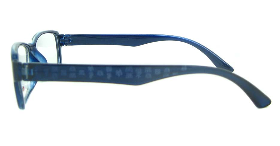 blue Rectangular tr90 glasses frame YL-KLD8014-C5L