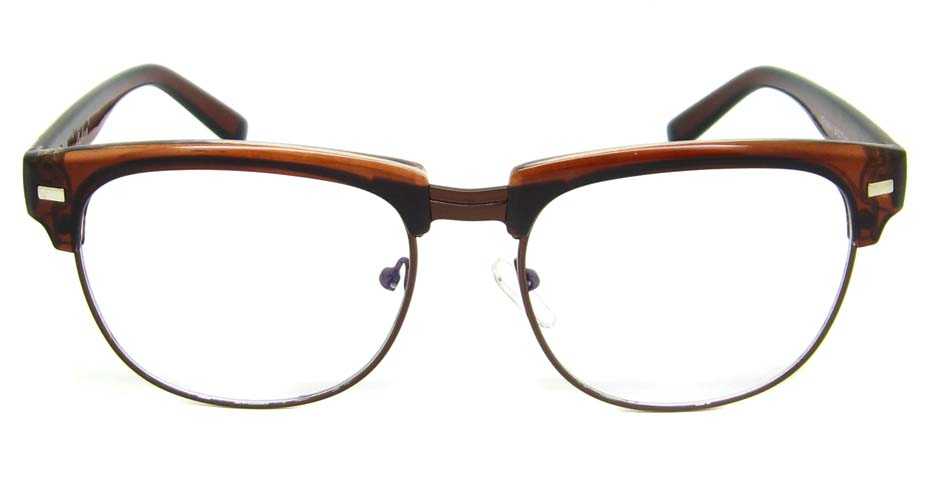 Tea blend retro oval glasses frame  YM-OF1849-C1