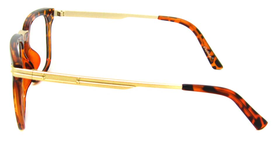 Tortoise with gold oval blend retro  frame YM-OF1219-C13