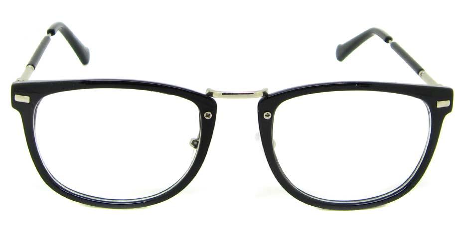 Black blend oval retro frame YM-G7018-C1
