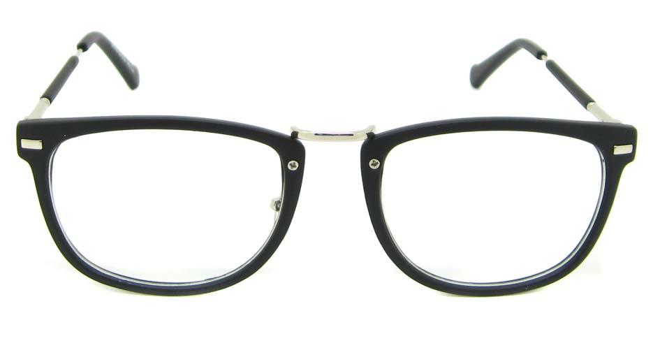 Matte Black  blend oval retro frame YM-G7018-c2