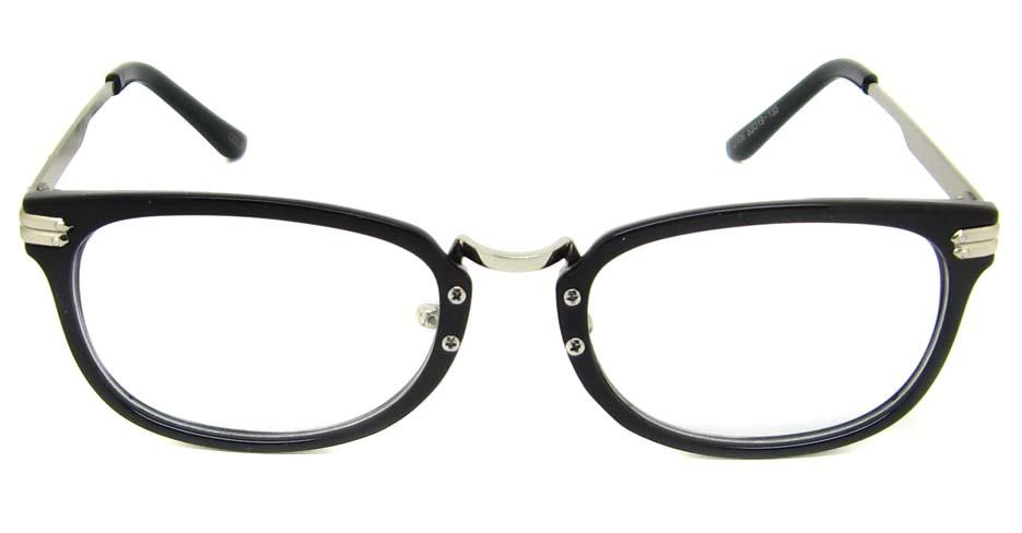 Black oval blend retro frame YM-J106-C1