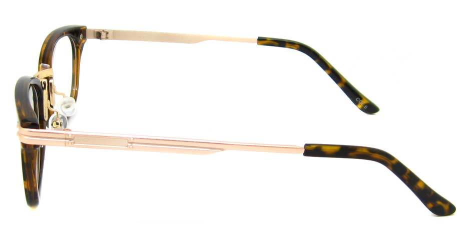 Tortoise oval blend retro frame YM-J106-C5