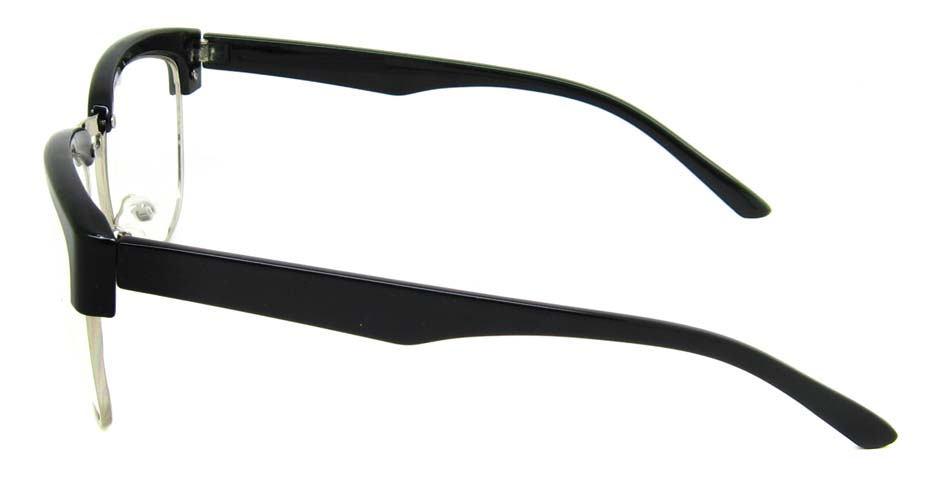 Black retro blend oval frame YM-XN3263-C1