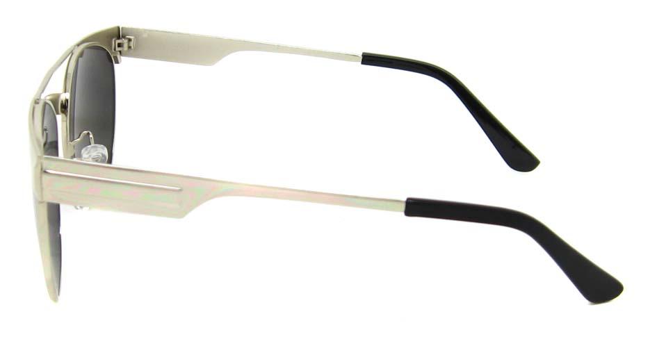 Silver Metal oval retro frame YM-S300-C4
