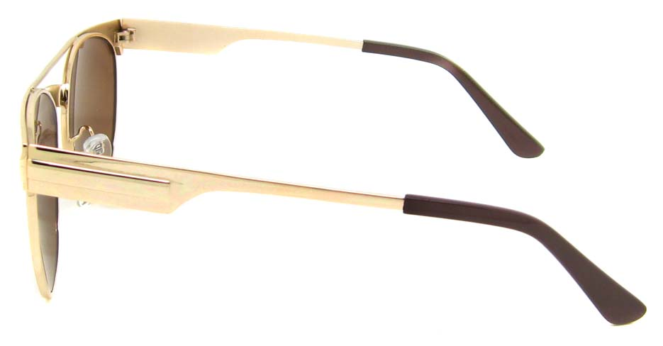 Gold Metal oval retro frame YM-S300-C2