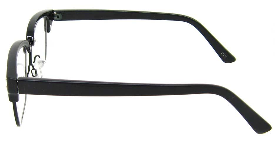 Black blend oval retro frame  YM-AX6761-C01