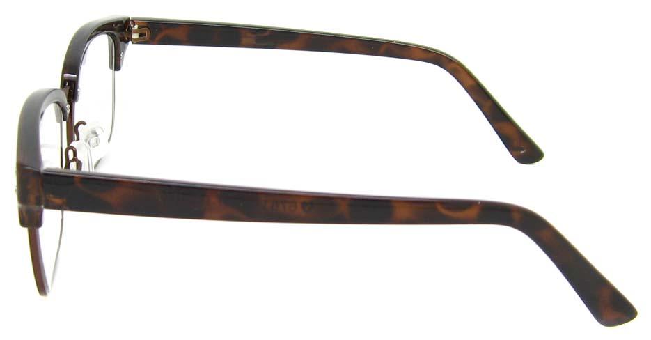 Tortoise blend oval retro frame YM-AX6761-C84