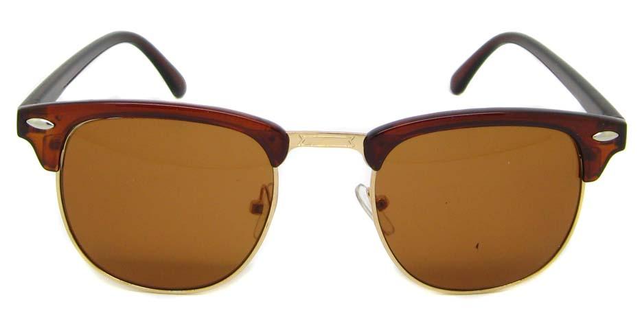 Tea blend oval retro glasses  LF-FG005-CS