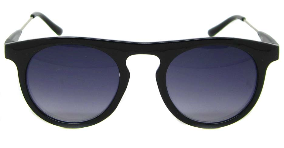 Black blend oval retro glasses  LF-FG006-HS